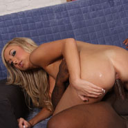 stunning teen gets creampied by a black in front of a cuckold from Cuckold Sessions