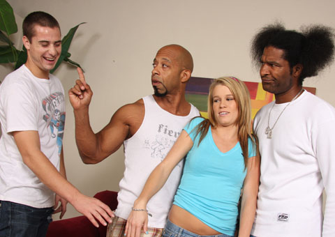 Aiden Aspen fucked by black men in front of her BF from Cuckold Sessions