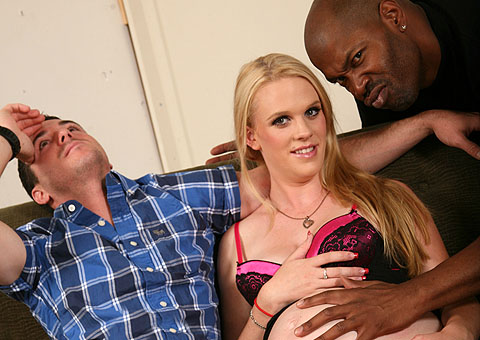 Hydii May banged by a hung black in front of a cuckold from Cuckold Sessions