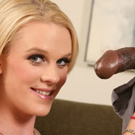 Blonde preggo Hydii May goes black in front of her Bf from Cuckold Sessions