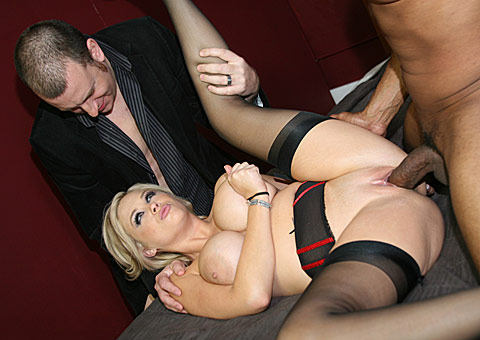 3 Natural Busty Katie Kox Goes Black In Front Of Her Lame Cuckold