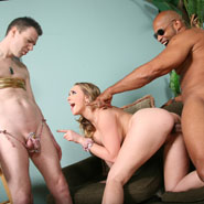 Kagney Linn Karter gets  creampied while Cuckold watches from Cuckold Sessions