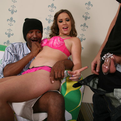 Cuckold of Sierra Sanders eats cum from her cunt from Cuckold Sessions
